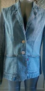 Vintage Levi's Women's Large Denim Blazer